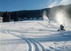 Ve Ski areálu Razula Velké Karlovice začali zasněžovat, začátek jubilejní sezóny se blíží