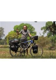 27. 9. 2016 Na živo o cestě na kole kolem světa