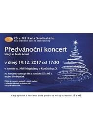 19. 12. 2017 Předvánoční koncert školy 2017