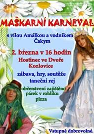 2. 3. 2018 Maškarní karneval