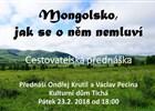 Mongolsko, jak se o něm nemluví
