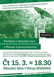 Povídání v Zeleném baru s Miriam Löwensteinovou