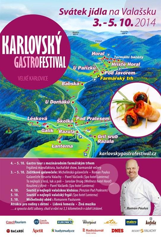 Karlovský gastrofestival přivítá českého