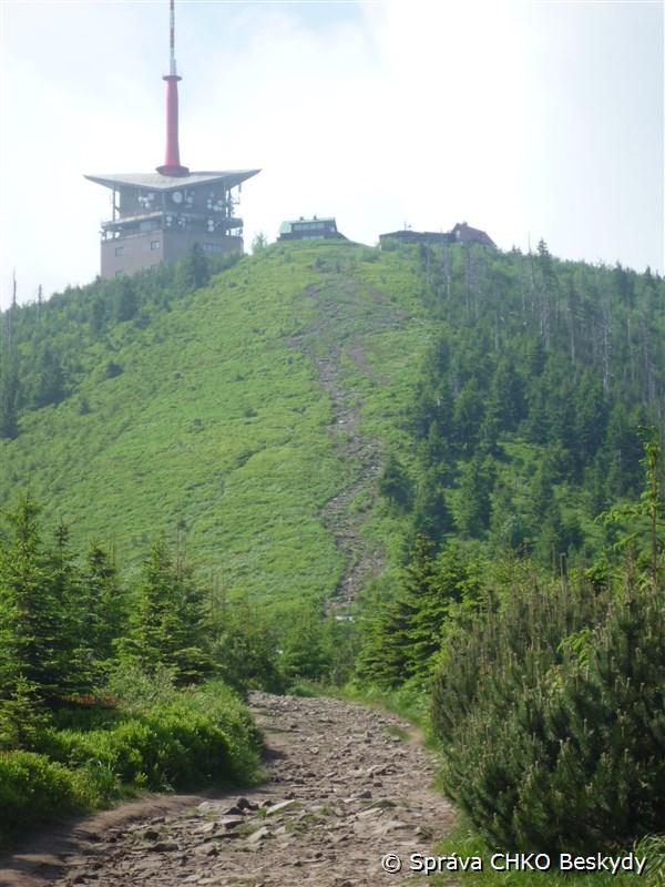 Úpravy na naší nejvyšší hoře Beskyd, Lysé hoře