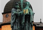 Kaple a sousoší sv. Cyrila a Metoděje na Radhošti
