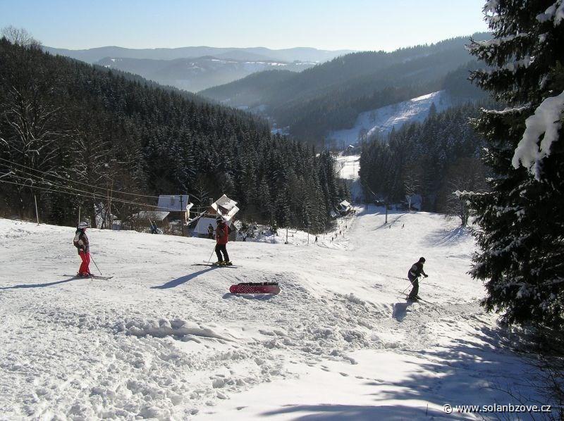 Lyžařský areál Soláň - Bzové