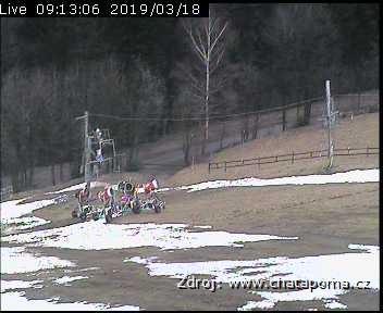 Lyžařské středisko P.O.M.A. Malenovice - Horní stanice