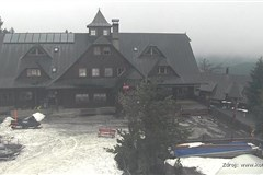 Ski centrum Kohútka - horní stanice sedačkové lanovky