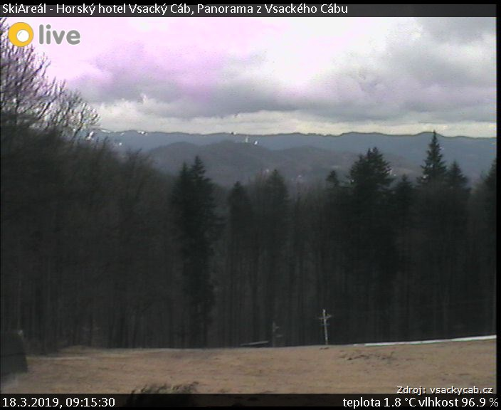 Vsacký Cáb - Vsetínské vrchy