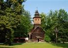 Přispějte na opravy šindelové střechy kostela sv. Anny