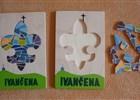 Krásné ručně vyráběné skládačky s logem Ivančeny v prodeji