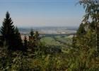 Výhled cestou na Prašivou - po červené