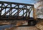 úsek Pržno, železniční most