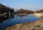 Hodoňovický splav na řece Ostravici