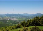 Velký Javorník - paragliding a výhled