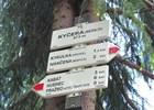 Rozcestí Kyčera - Sedlo