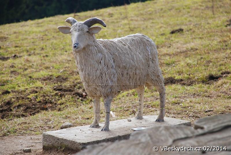 Památník valašské ovci