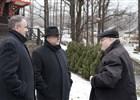 Ministr kultury ČR navštívil požárem poničený objekt Libušína na Pustevnách