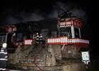 Chata Libušín na Pustevnách hořela