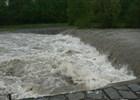 Řeka Ostravice - velká voda květen 2014