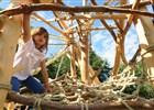 Přírodní dětské hřiště na Prašivé je zprovozněno