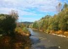 Čupek a řeka Ostravice