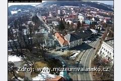 Vsetín - pohled ze zámecké věže
