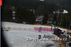 Ski areál Bílá - Spodní stanice lanové dráhy