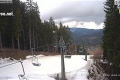Ski areál Rališka - výstup u lanovky