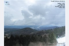 MS Beskydy, Vsetínské vrchy, Javorníky - výhled od Portáše