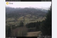 Morávka - výhled ze Ski areálu Sviňorky na hory