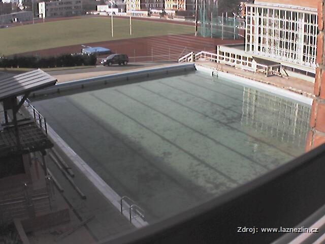 Zlín - Lázně Zlín - venkovní bazén